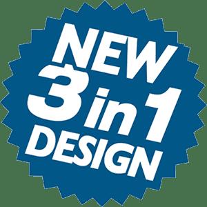 New 3 in 1 design Permaboot